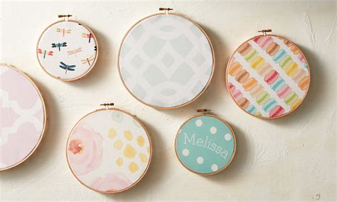 Livingroom Makeover by Diy Fabric Embroidery Hoops Zazzle Blog