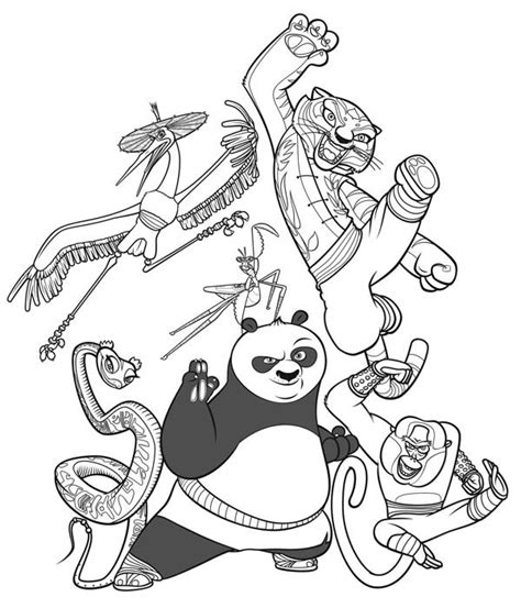 kung fu panda legends of awesomeness coloring pages the legend of kung fu panda coloring page download