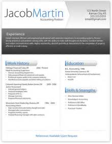 Free Templates For Resumes To Print Free Printable Resume Template By Joshgill