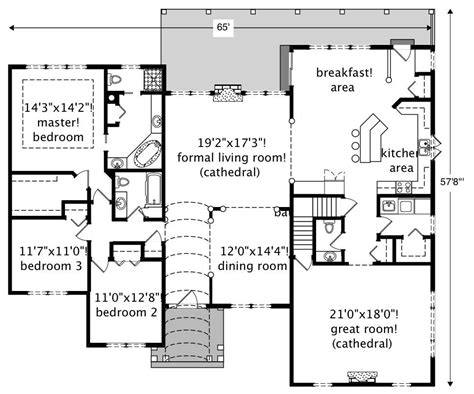 house plan 110 00381 traditional european traditional home with 3 bedrms 2705 sq ft
