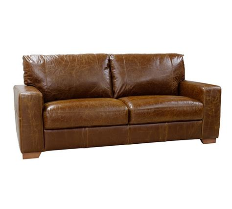 argos leather sofa buy heart of house eton 3 seater leather sofa tan at