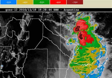 imagenes satelitales tormentas argentina nueva alerta meteorol 243 gica para la regi 243 n oriental y el