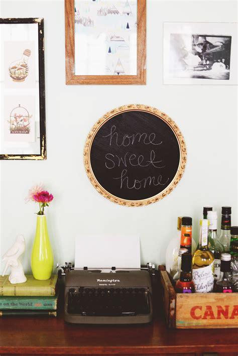 diy chalkboard wall frame diy framed chalkboard