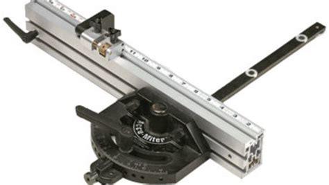 accu miter protractor style miter gauge finewoodworking