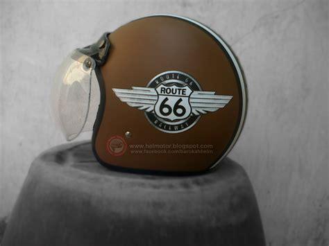 Helm Bogo Pink By Gombong Motor helm bogo retro route 66 helm vespa