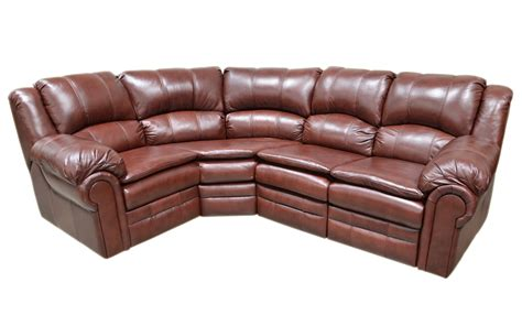 Leather Sectional Sofa With Recliner by Leather Sofa Riviera Reclining Furniture Leather