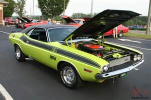 1970 dodge challenger t a 340 six pack s matching
