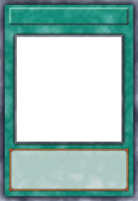 trap card template spell card template by grezar on deviantart