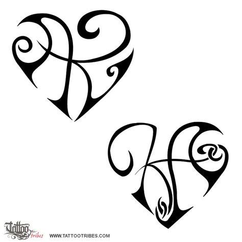 tattoo of k a heart union love tattoo custom tattoo