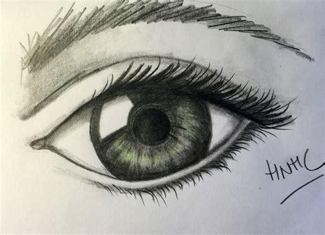 imagenes de ojos faciles de dibujar c 243 mo dibujar un ojo realista abierto 161 hoy no hay cole