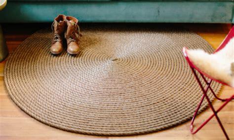 tappeti in corda blizzy glizzy tappeto rotondo in corda fai da te