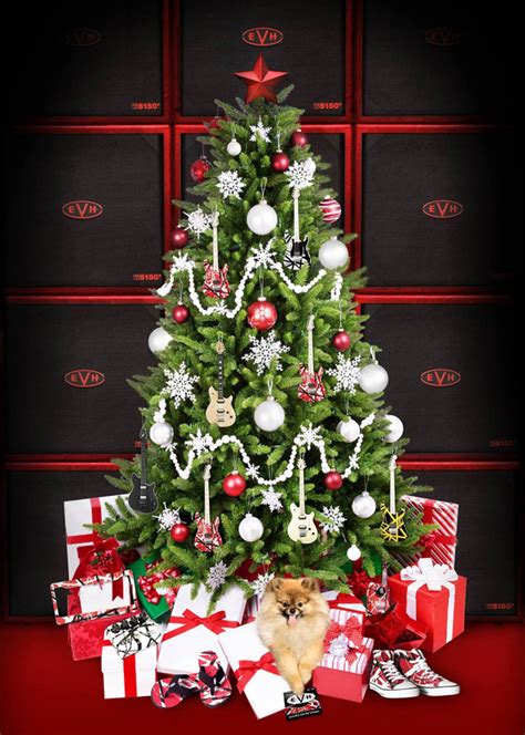 eddies christmas message van halen news desk