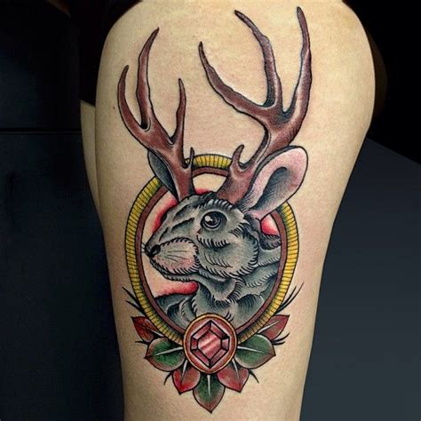 must get me a jackalope tattoo someday the art of the