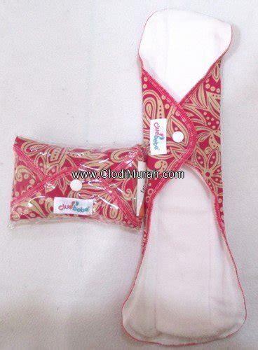 Klodiz Menstrual Pad Day pembalut kain cuci ulang cluebebe grosir retail clodi