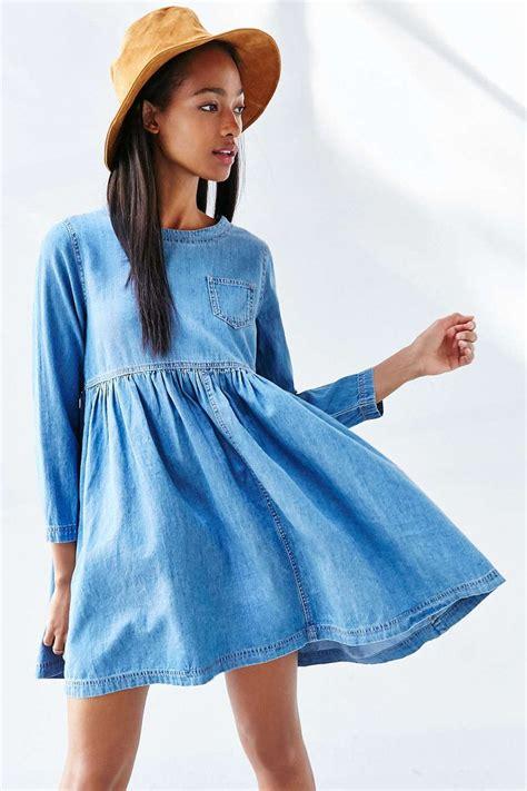 Dress Baby Doll Denim 1000 ideas about denim dresses on