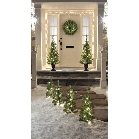 front porch christmas trees lighted trees for front porch christmas pinterest