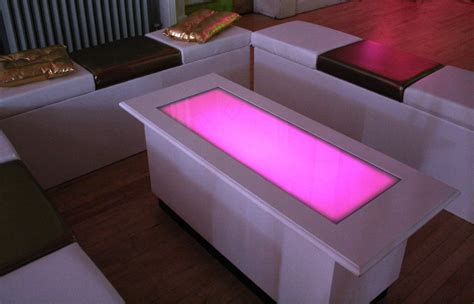 led coffee table design images  pictures