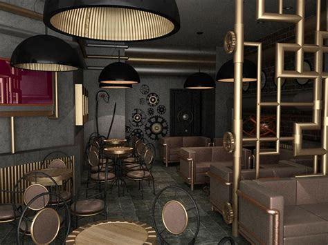 Bathroom Theme Ideas by Steampunk Style In Interior Design L Essenziale