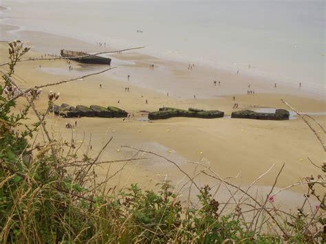 turisti per caso normandia spiagge dello sbarco in normandia normandia francia