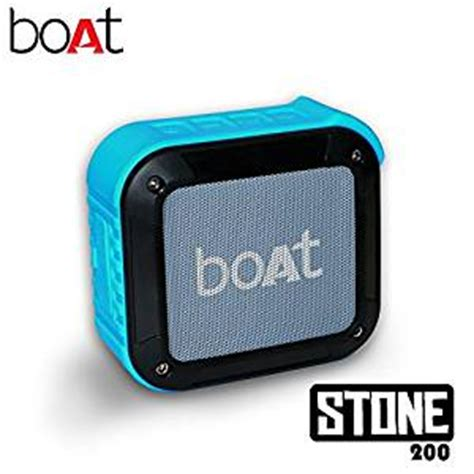 boat stone speakers review boat stone 200 portable bluetooth speakers in