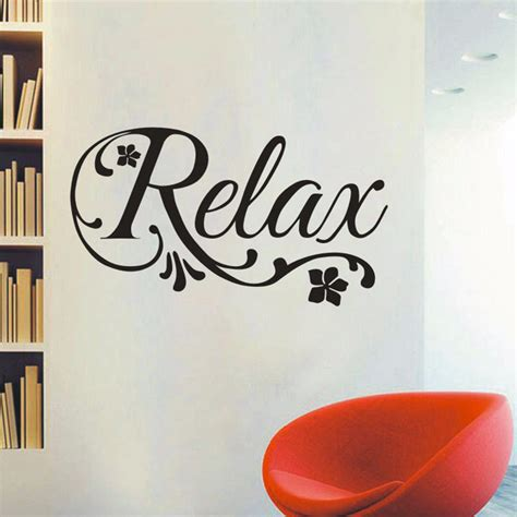 home interiors wall decor ᐂrelax swirls flower decal decal art vinyl wall sticker