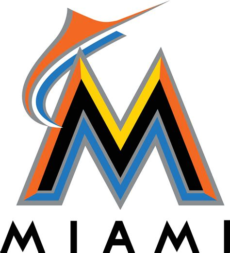 a logo with a miami marlins logos