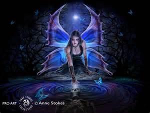 Fairy Wall Murals anne stokes immortal flight imfasw001