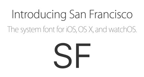 apple font download download san francisco font used in ios 9 watchos el