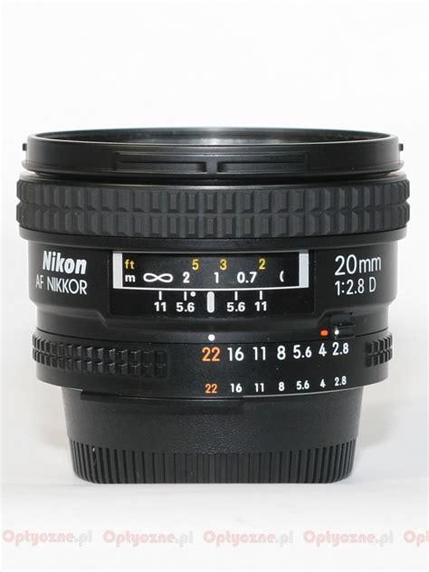 Nikon Af 20mm F 2 8d Lens nikon nikkor af 20 mm f 2 8d review introduction