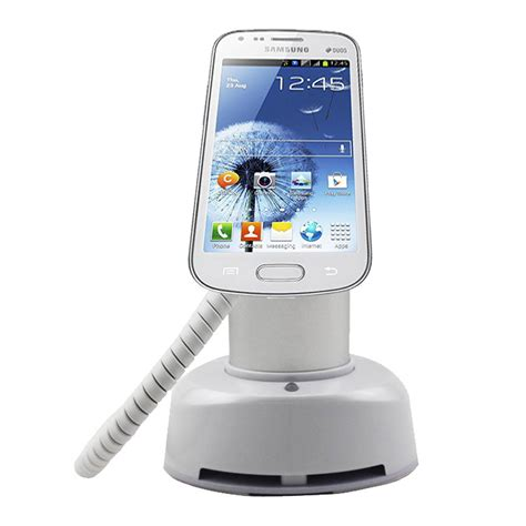 Alarm Mobil cell phone security display alarm stand 130cm mobile phone security display holder with code