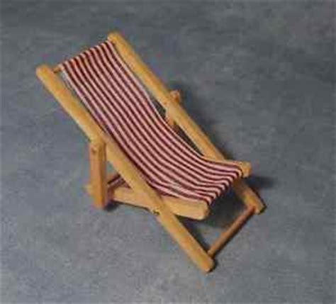 striped deck chairs for sale white striped deck chair dolls house miniatures