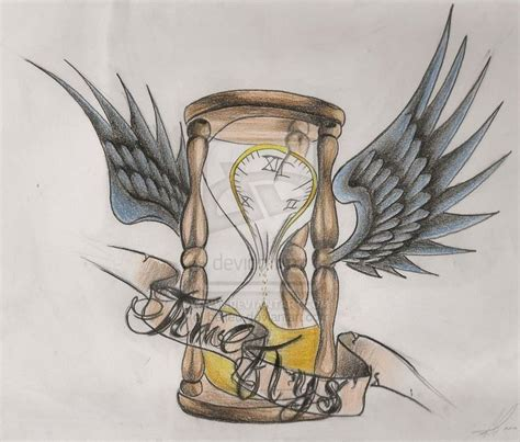 time flies tattoo best 25 time flies ideas on