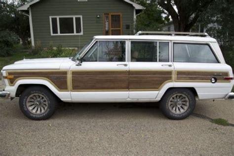 87 jeep wagoneer purchase used 87 grand wagoneer clean sharp classic