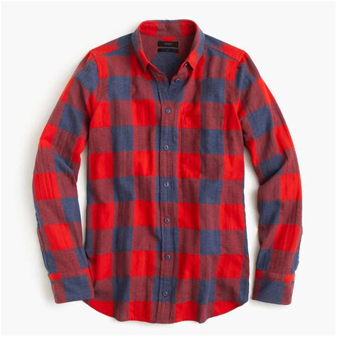 Shirt For Boy Shirt In Fiery Sunset Buffalo Check S Shirts