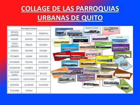 imagenes de parroquias urbanas y rurales distrito metropolitano de quito