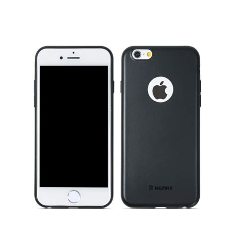 Back Iphone 6 6s remax iphone 6 iphone 6s pastel cover in black colour