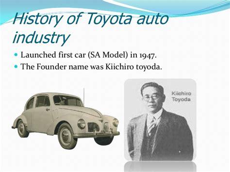 Founder Of Toyota Company Toyota Motor Corporation