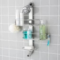 Top 10 Shower Organizers Apartment Therapy S Annual Modern Bathroom Door Hooks