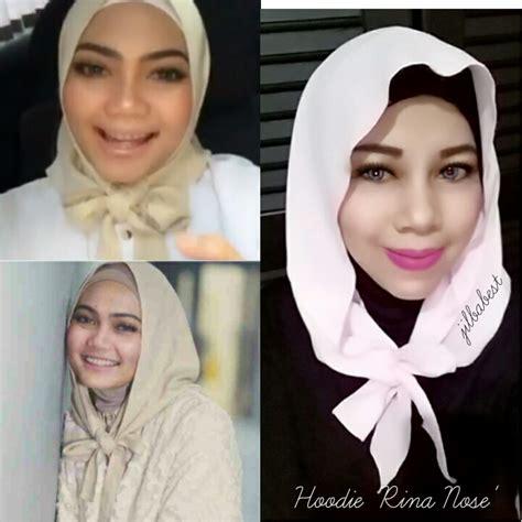 Jilbab Instan Hoodie Rina Nose jual jilbab rina nose hoodie jilbabest