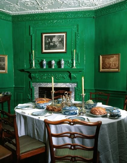 dining room in monticello favorite places i ve been to under the gables bold colors for a courageous people