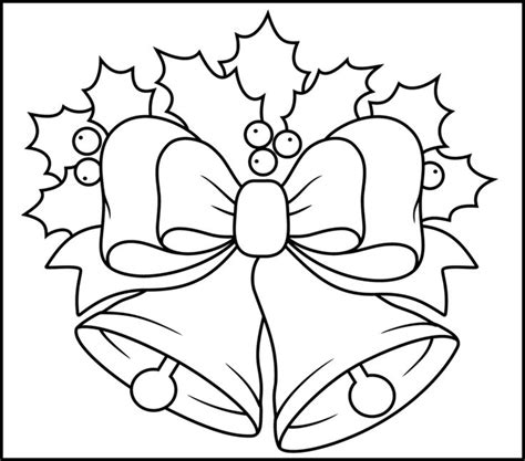 free printable coloring pages of christmas bells christmas bells printable coloring page coloring pages