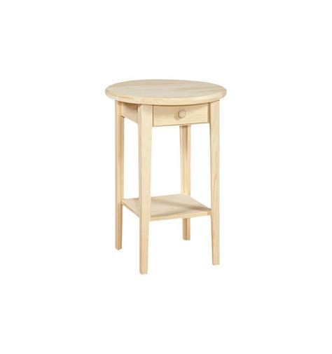 20 inch round table 20 inch white horse round side table simply woods