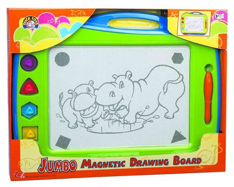 doodle magnetic drawing board jumbo magnetic drawing board from hop cheong