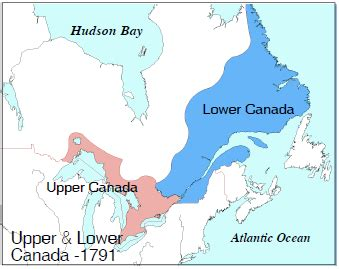 House Structure Parts Names by Canada A Country By Consent The Canada Act Upper Amp Lower Canada In 1791