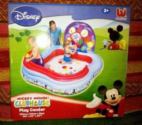 Kolam Perosotan Disney Club House Bestway Kolam Bestway jual kolam renang mainan anak kolam pompa bestway bahan