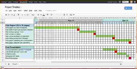 8 project management timeline template ganttchart template