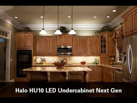 halo led cabinet lighting halo hu10 led undercabinet