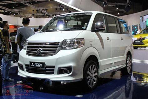 Accu Mobil Suzuki Apv inilah yang bikin new suzuki apv luxury menyilaukan mobil baru mobil123
