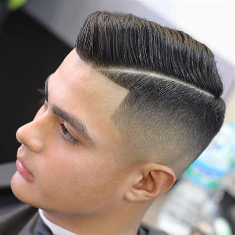 mens combover haircuts with tramline image comb over haircut for men 2017 new hairstyle for men