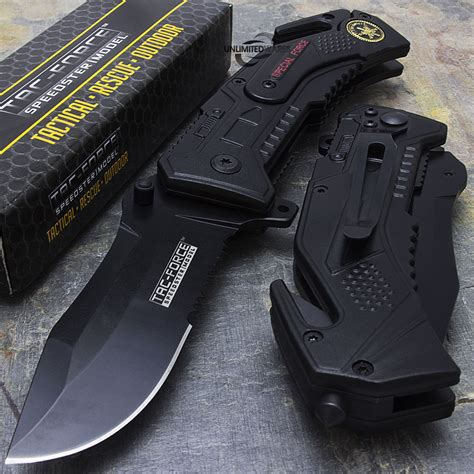 pocket knife with seatbelt cutter tac special forces speedster pocket knife with seat